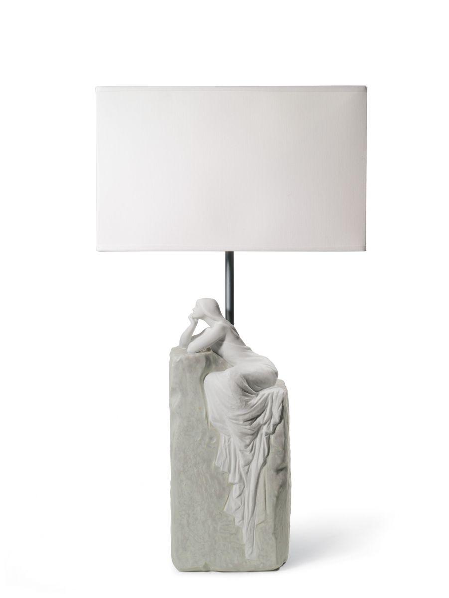 Donna Contemplativa Lampada Da Tavolo Porcellana Lladro Gioielleria Ciacci Shop