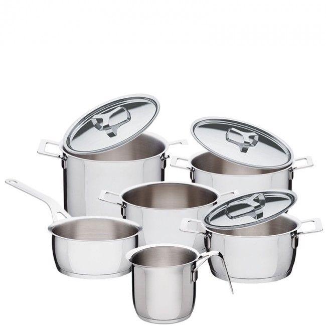ALESSI-POTS & PANS set pentole 9 pezzi -AJM100S9 - Gioielleria ...